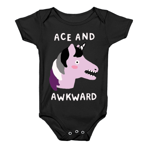 Ace And Awkward Baby Onesy