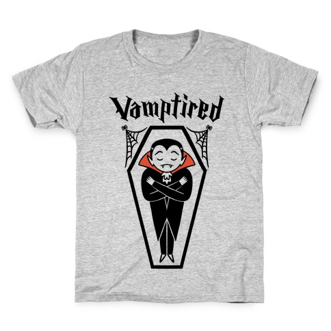 Vamptired Tired Vampire Kids T-Shirt