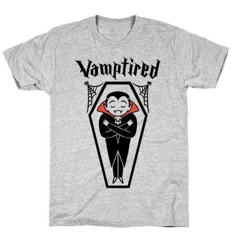Vamptired Tired Vampire T-Shirt
