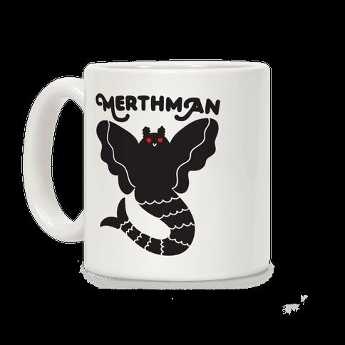 Merthman (Mermaid Mothman) Coffee Mug