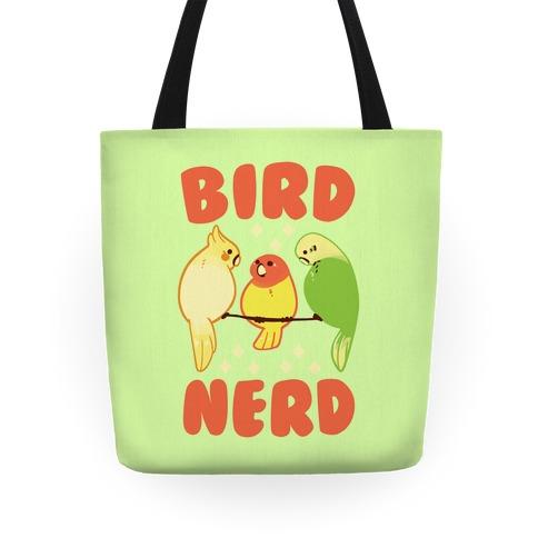 Bird Nerd Tote