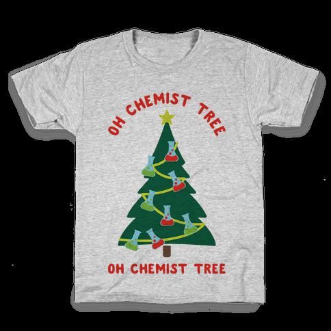 Oh Chemist tree Oh Chemist tree Kids T-Shirt