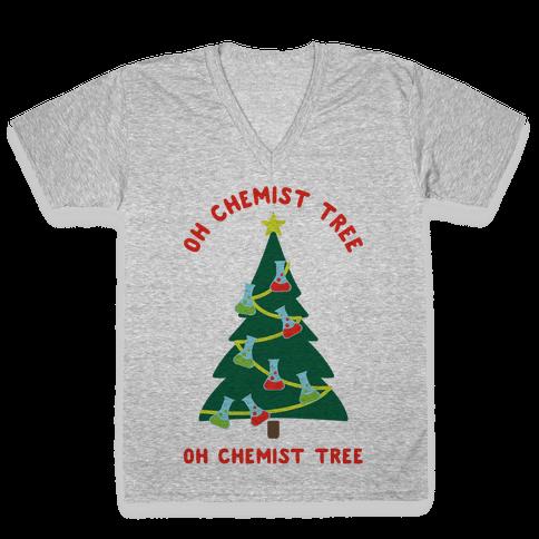 Oh Chemist tree Oh Chemist tree V-Neck Tee Shirt