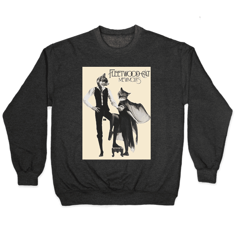 Fleetwood Cat Mewmours Mashup Pullover