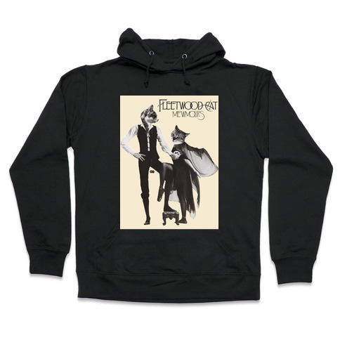 Fleetwood Cat Mewmours Mashup Hooded Sweatshirt