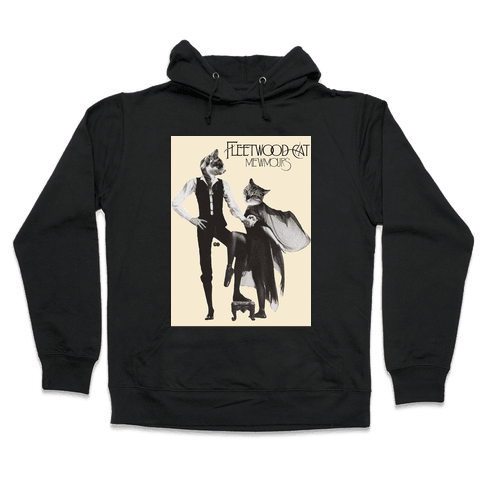 Fleetwood Cat Mewmours Mashup Hooded Sweatshirt
