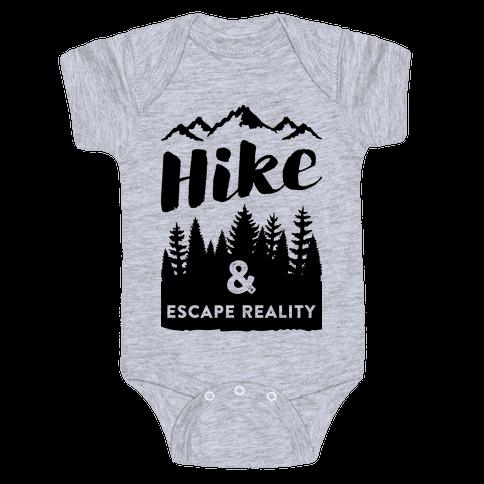 Hike & Escape Reality Baby Onesy