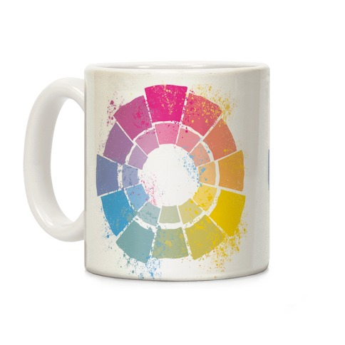 Pan Pride Color Wheel Coffee Mug