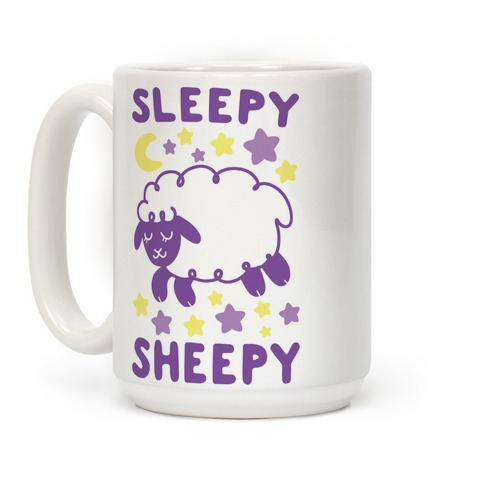 Sleepy Sheepy Coffee Mug