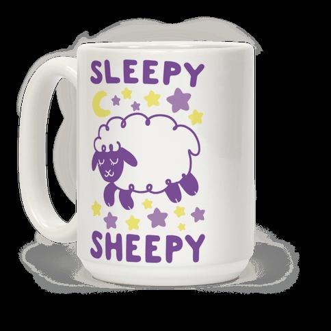 Sleepy Sheepy Coffee Mug