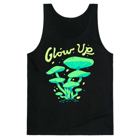 Glow up Bioluminescent Mushrooms Tank Top