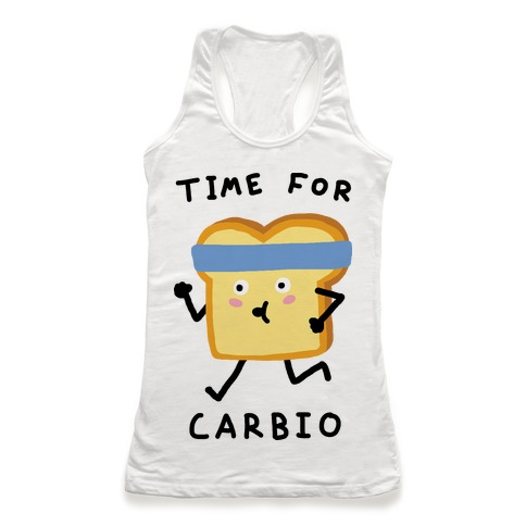 Time For Carbio Racerback Tank Top