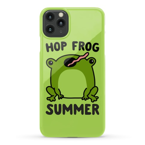 Hop Frog Summer Phone Case