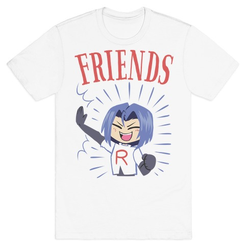 Best Friends Team Rocket James T-Shirt