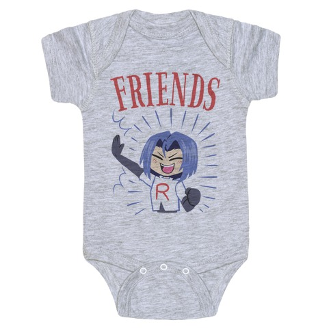 Best Friends Team Rocket James Baby Onesy