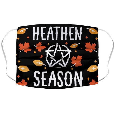 Heathen Season Accordion Face Mask
