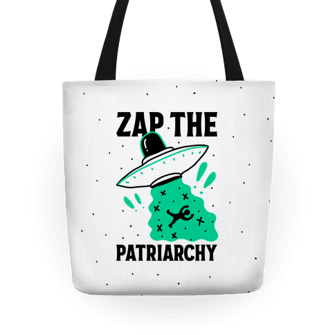 Zap the Patriarchy Tote