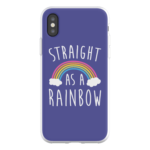 Straight As A Rainbow Phone Flexi-Case