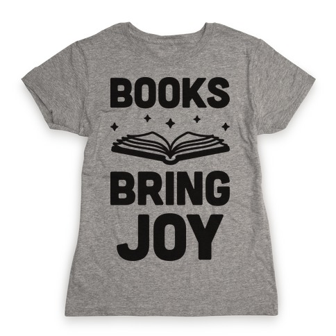 Books Bring Joy Womens T-Shirt