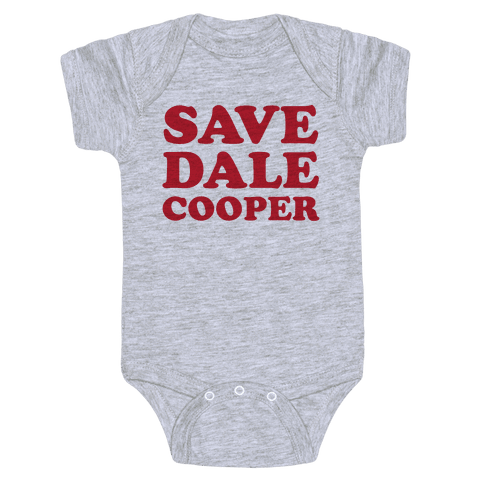 Save Dale Cooper Baby Onesy