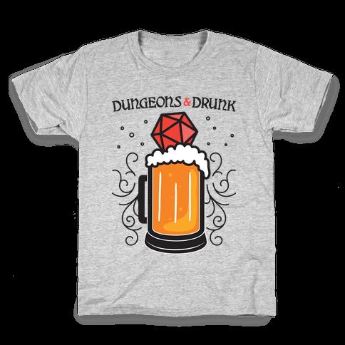Dungeons & Drunk Kids T-Shirt