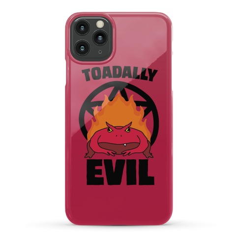 Toadally Evil Phone Case