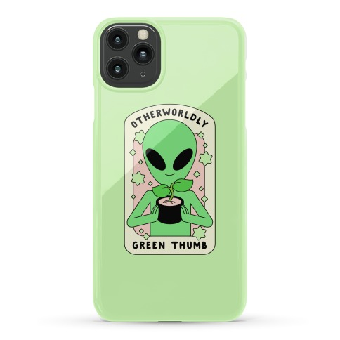 Otherworldly Green Thumb Phone Case