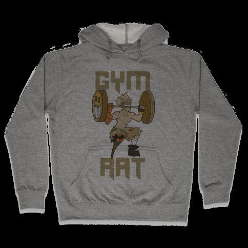 Gym Rat Hooded Sweatshirt