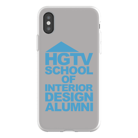 HGTV School of Interior Design Parody Phone Flexi-Case