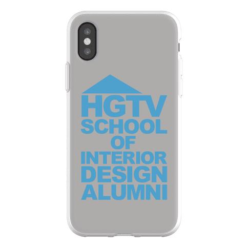 HGTV School of Interior Design Parody Phone Flexi-Case