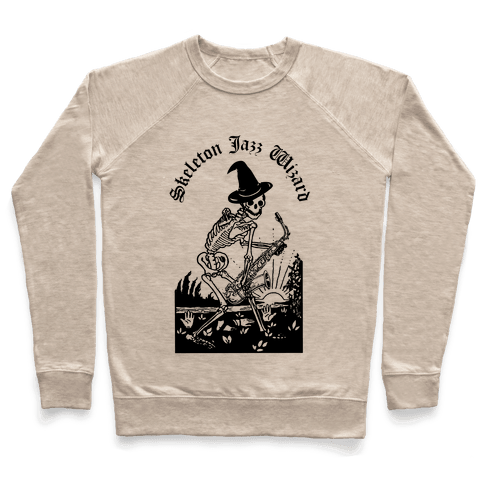 Skeleton Jazz Wizard Pullover