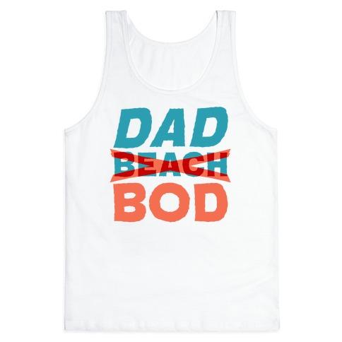 Dad Beach Bod Tank Top