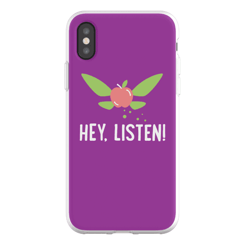 Hey, Listen! Teacher Navi Phone Flexi-Case