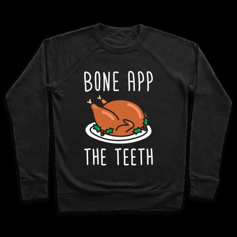 Bone App The Teeth (White) Pullover