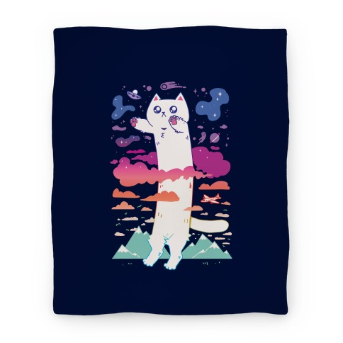 Long Cat Blanket
