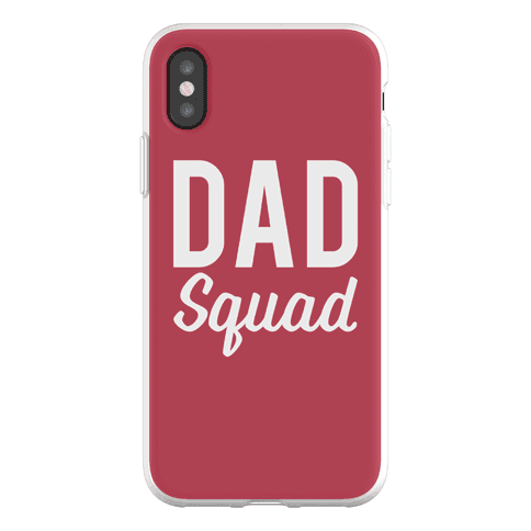 Dad Squad Phone Flexi-Case