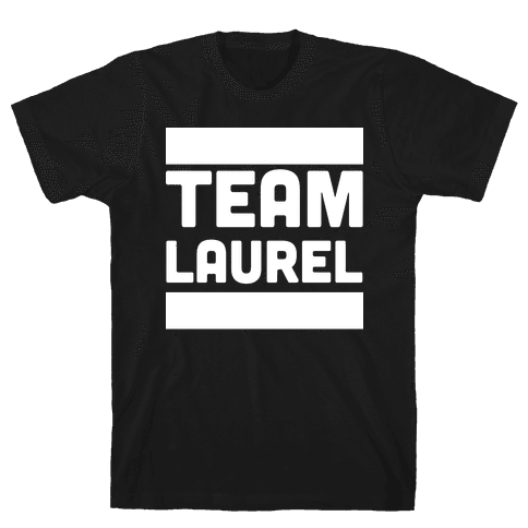 Team Laurel Mens T-Shirt