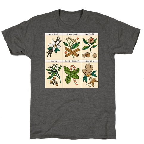 Holiday Spice Botanicals T-Shirt