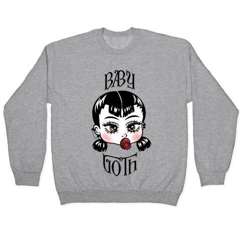 Baby Goth Pullover