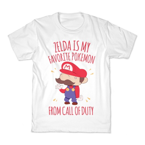 Zelda Is My Favorite Pokemon Kids T-Shirt