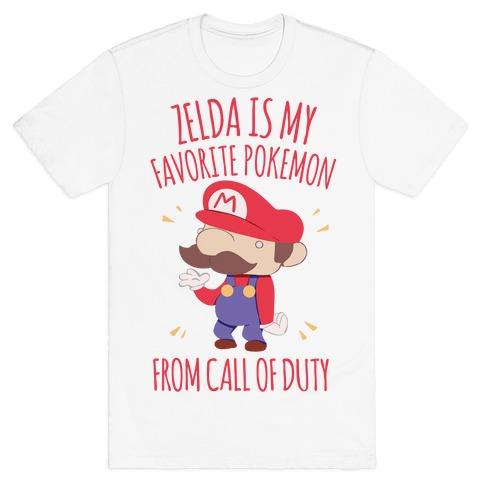 Zelda Is My Favorite Pokemon T-Shirt