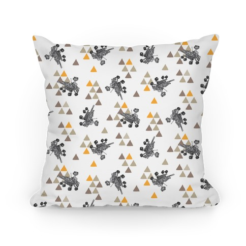 Wandering Mars Rover Pillow