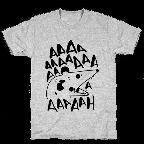 Screaming Possum Mens T-Shirt