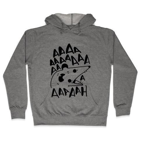 Screaming Possum Hooded Sweatshirt
