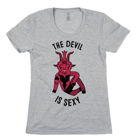 Sexy Devil Womens T-Shirt