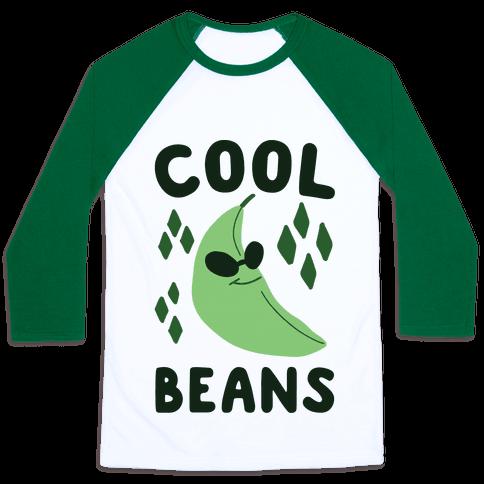Cool Beans  Baseball Tee