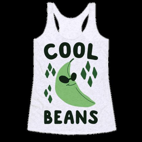 Cool Beans  Racerback Tank Top