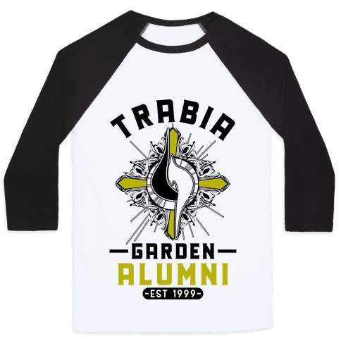 Trabia Garden Alumni Final Fantasy Parody Baseball Tee