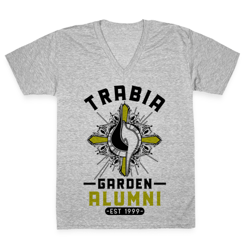 Trabia Garden Alumni Final Fantasy Parody V-Neck Tee Shirt