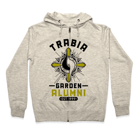 Trabia Garden Alumni Final Fantasy Parody Zip Hoodie